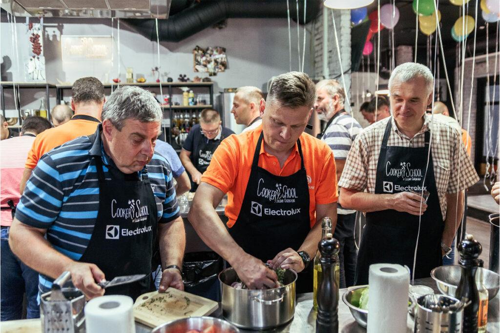 Кулинарный тимбилдинг Киев