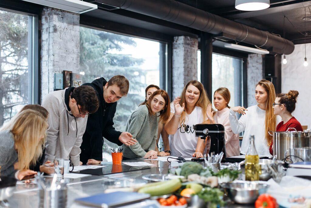 Проведение кулинарного тимбилдинга в Украине