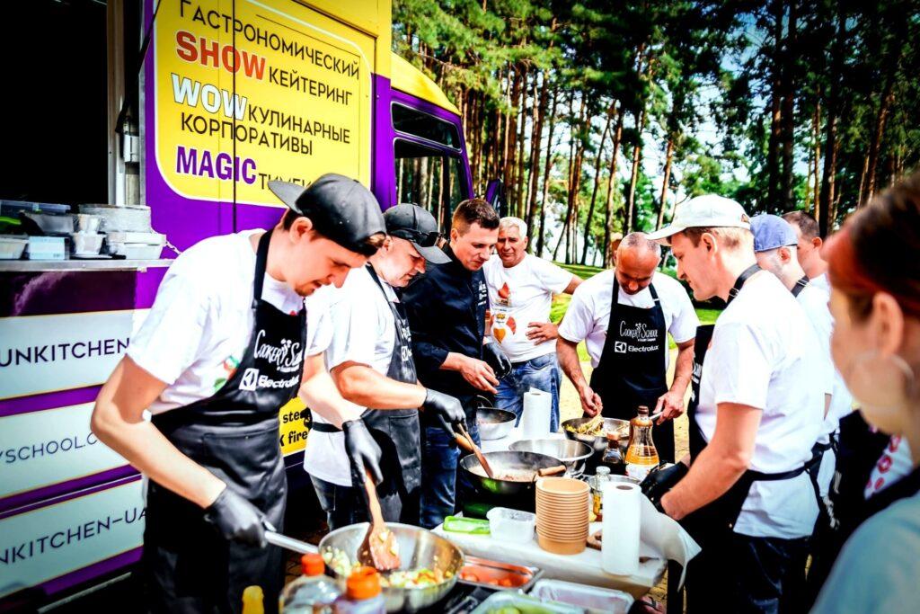 Кулинарный корпоратив Кухня на колесах