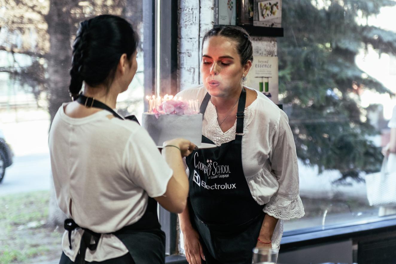 День Рождения в стиле кулинарного мастер класса