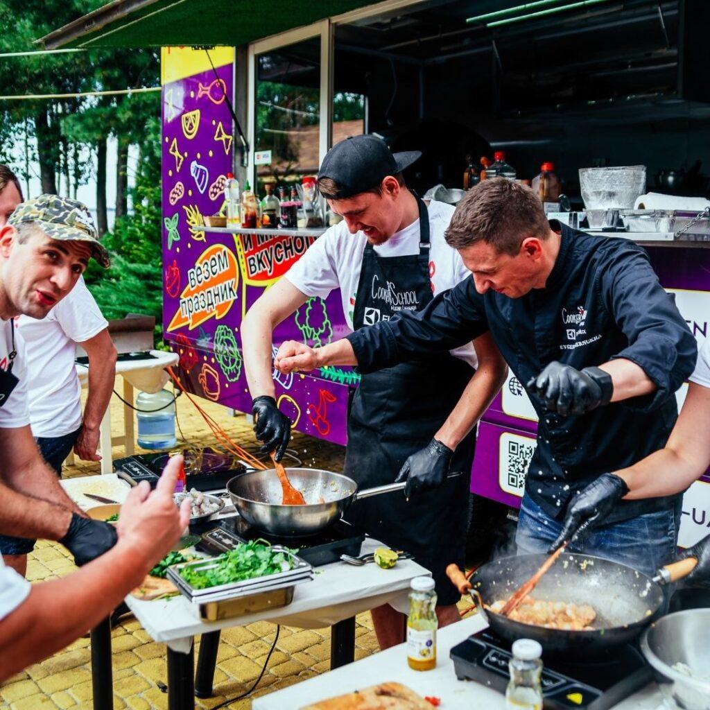 День Рождения кулинарный мастер-класс 2 10 1 Fun Kitchen