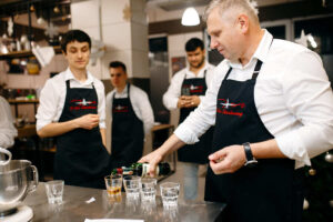Кулинарный мастер-класс на мальчишник Киев