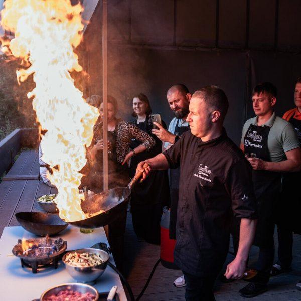 Кулинарные вечеринки Киев
